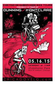 Tour of Dunning and Montclare 2015 Poster