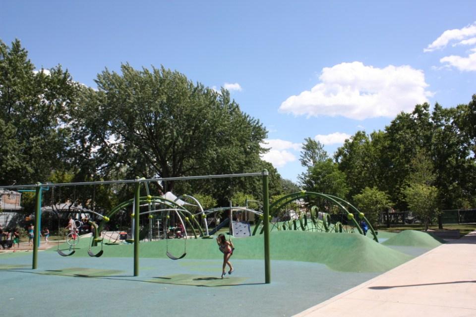 Merrimac Park, former site of Kolze's Grove