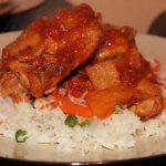Jamaican Jerk Chicken Stew and Rice Recipe By Tina Nsubuga