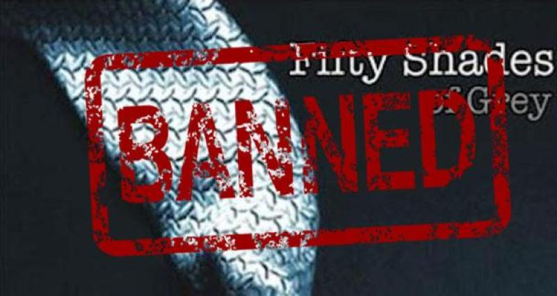 fifty shades of grey banned