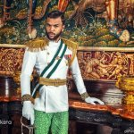 Jidenna Looks Like West African Royalty in Ankara Photo Shoot