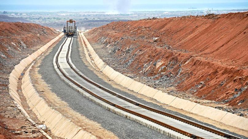 DJIBOUTI-ETHIOPIA-CHINA-ECONOMY-TRANSPORT