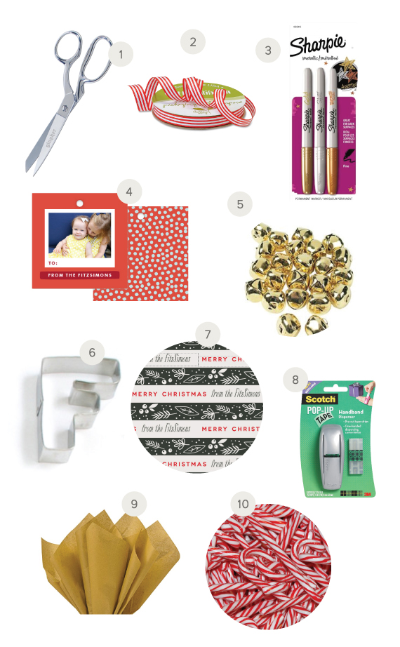 10 Holiday Gift Wrapping Essentials - Chic & Sugar