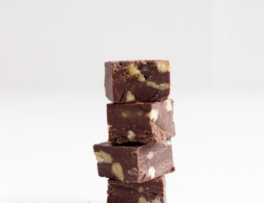 "This ""Fool Proof Fudge"" requires only five ingredients and five minutes or preparation. This is a timeless dessert to make for holidays or gift. 