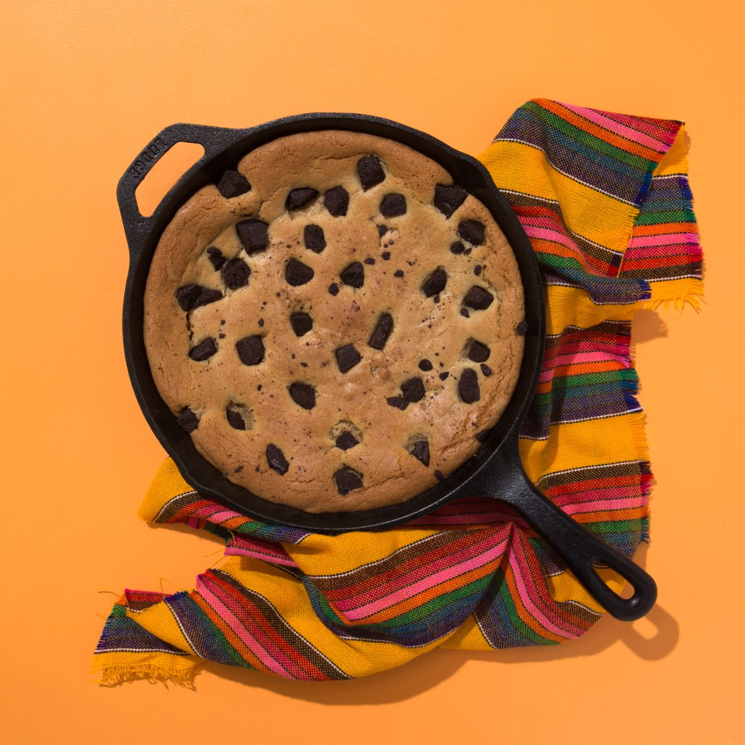 Mexican Chocolate Skillet Cookie