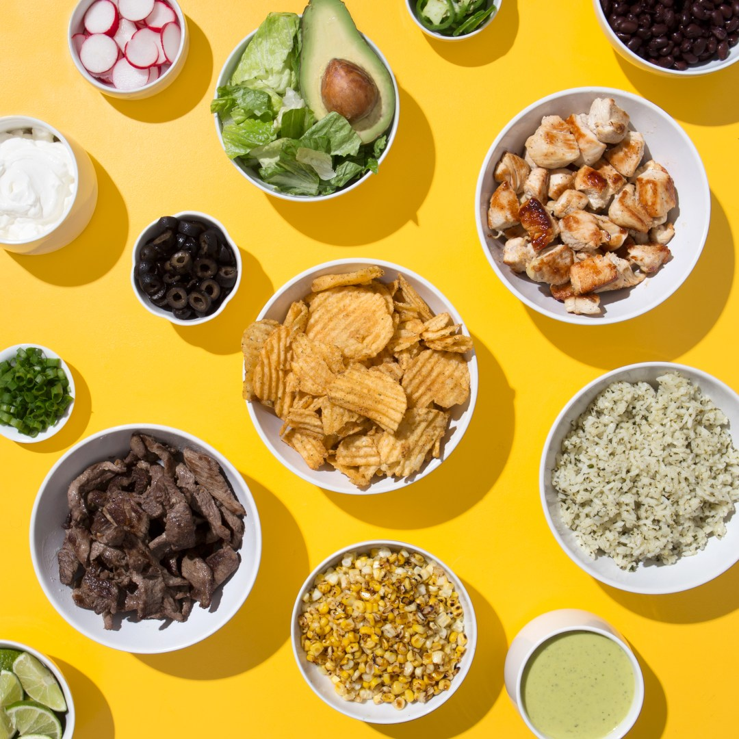 GameDay Burrito Bowl Bar