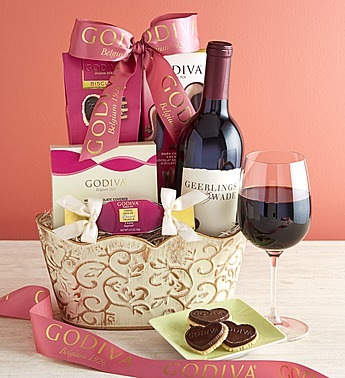 godiva and wine