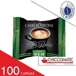 Capsule Caffè Borbone Compatibile Lavazza a Modo Mio Miscela Verde Dek