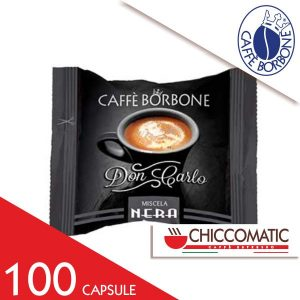 Capsule Caffè Borbone Compatibile Lavazza a Modo Mio Miscela Nera