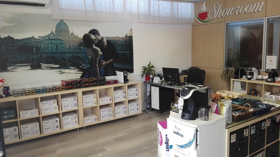 Chiccomatic negozio Vendita caffè macchine comodato d'uso Umbria