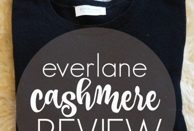 everlane cashmere review