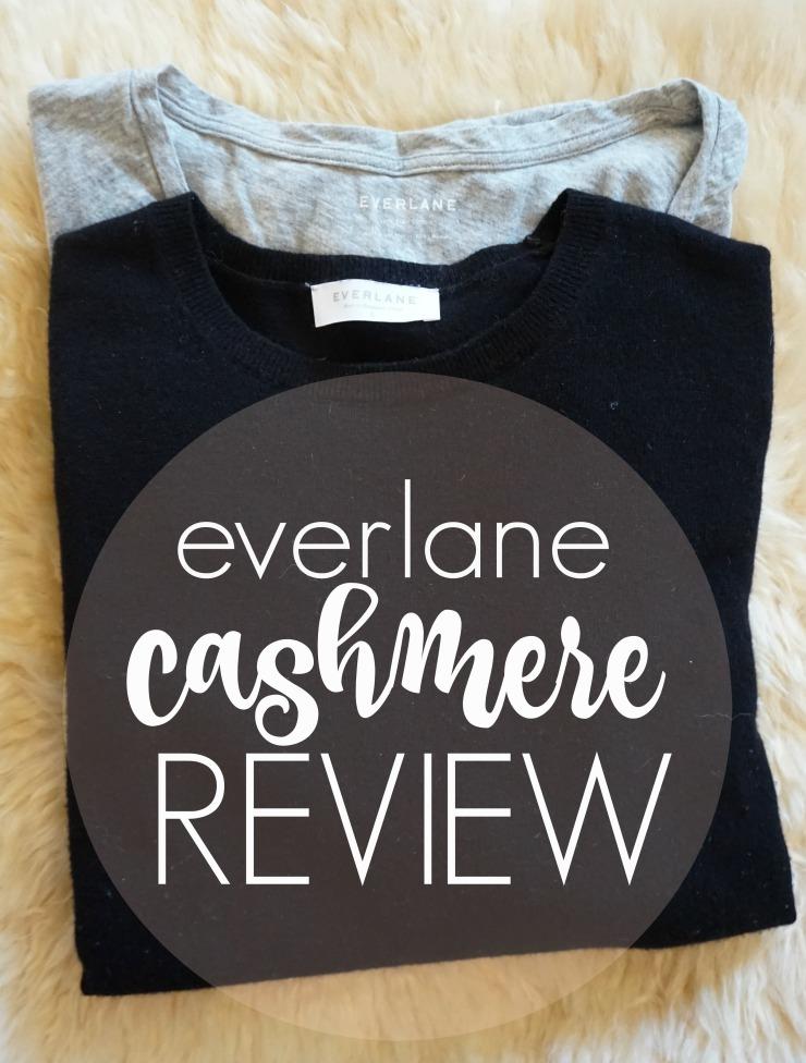 everlane cashmere review