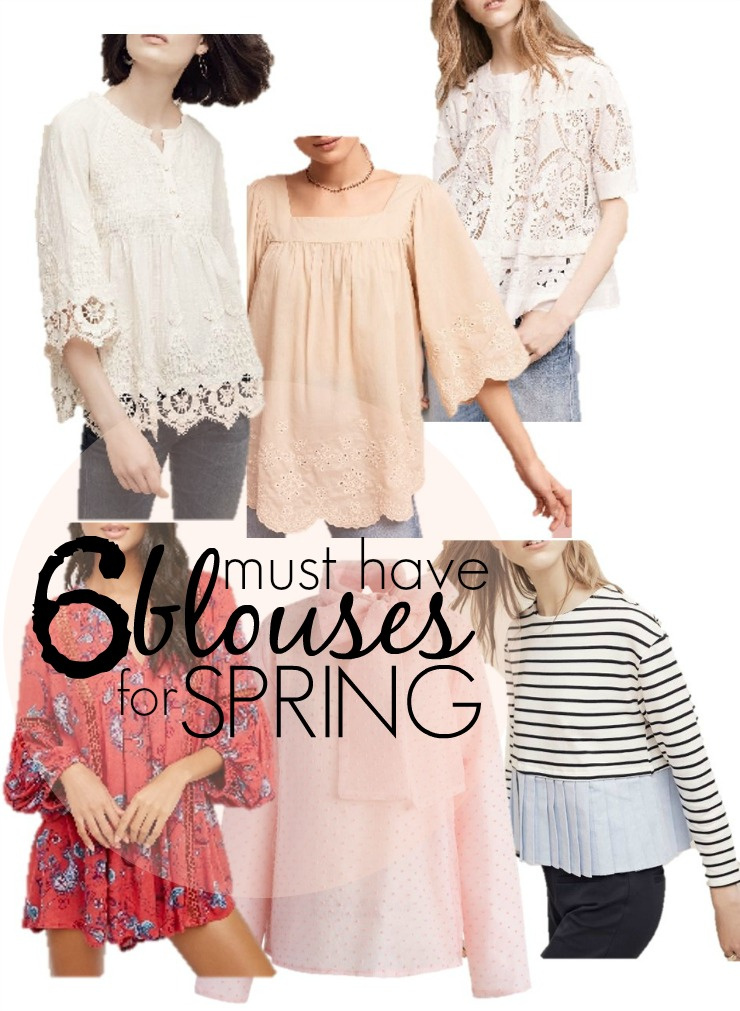 6 must have spring blouses
