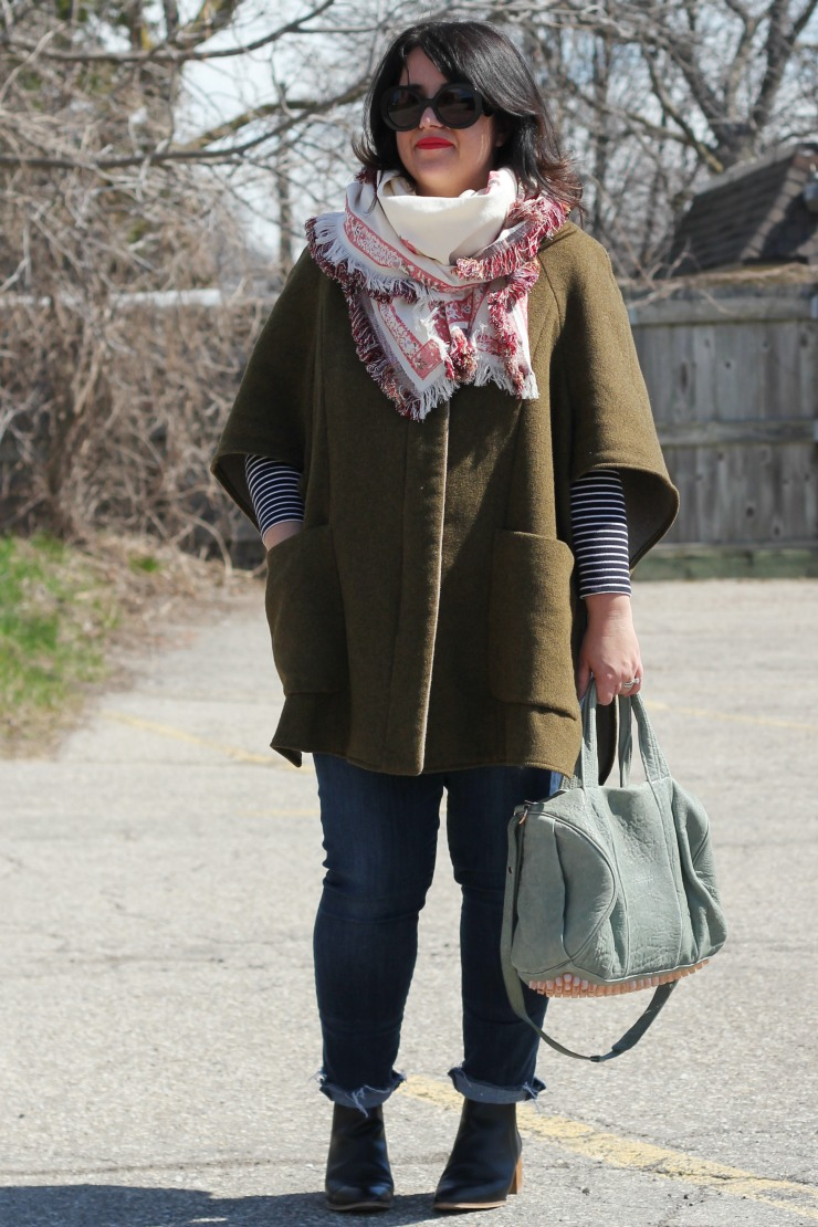 chic errands outfit for spring