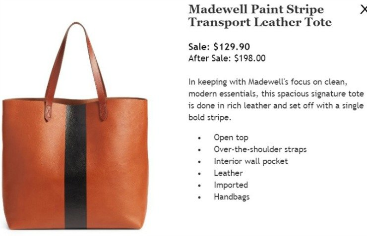 madewell transport tote nordstrom anniversary sale