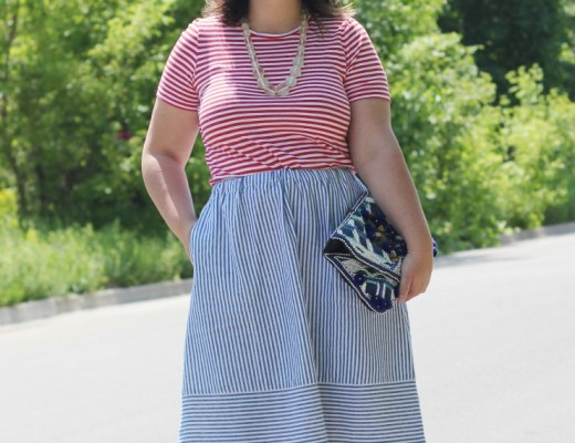 double stripes outfit