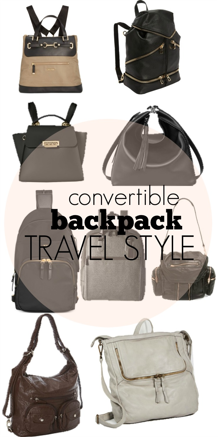 convertible backpack travel style