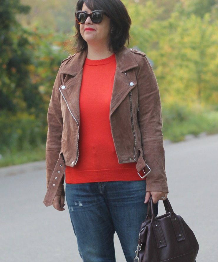 orangey red for fall
