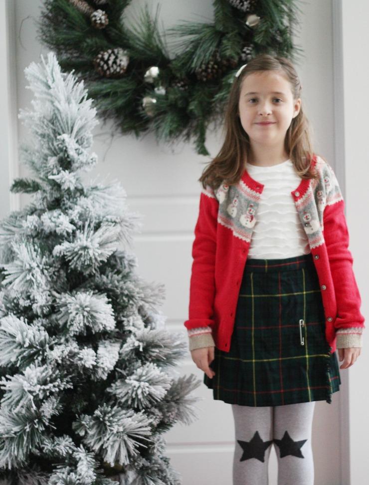 boden kids christmas cardigan