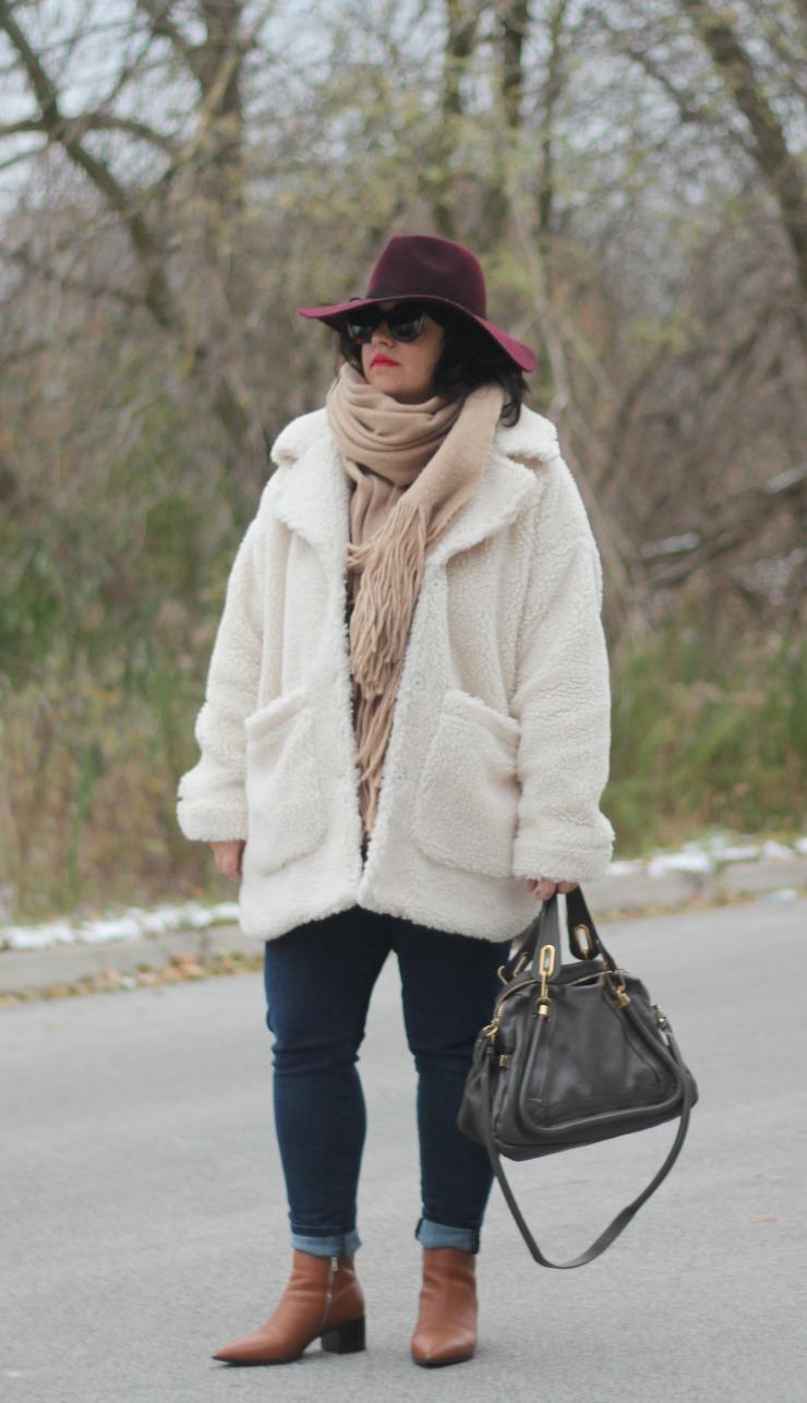 teddy coat style