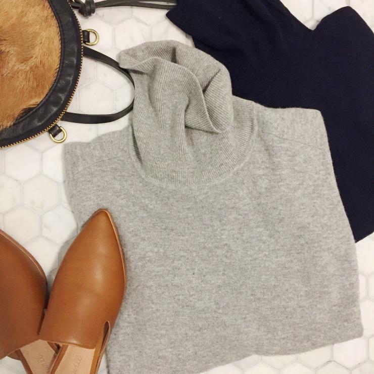 everlane cashmere turtleneck review