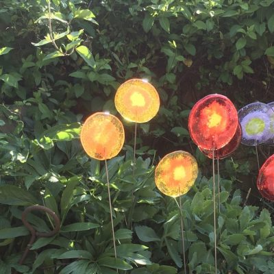 Fused glass lollipops - Fused glass - Various - by Karen Ongley-Snook