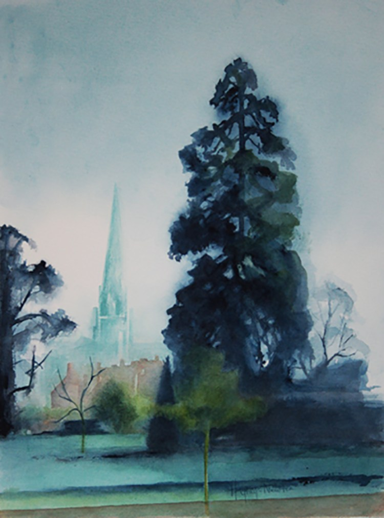 Chichester Cathedral - Watercolour