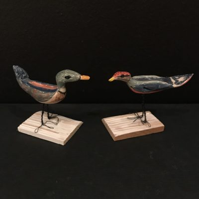 spring birds - ceramic - mixed sizes - by Sarah Sykes