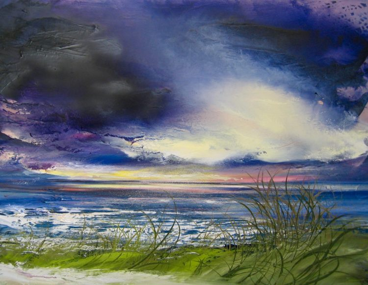 West Wittering - Oil on Canvas