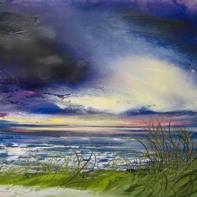 West Wittering - Oil on Canvas - 80x100cm - by Shazia Mahmood
