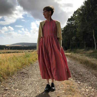 A comfortable grace - Handmade dresses and woollens - small/med  med/large - by Nicola Hancock