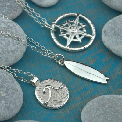 Three Pendants - Sterling Silver - Varying - by Tia Rolfe
