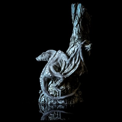 Dracan - porcelain - 320mm - by Michael Meech