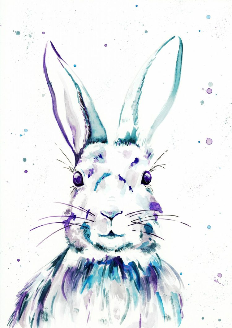 Rabbit I - Watercolour