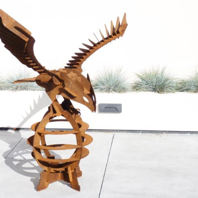 Eagle - Sculptural - Height: 1200mm Width: 1160mm Depth: 670mm - by Mathew Fahy