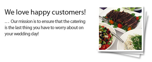 Wedding caterers in West Sussex
