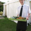 Catering Staff at Birthday Party