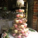 Wedding cake at Grittenham Barn