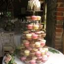 Wedding cake at Grittenham Barn