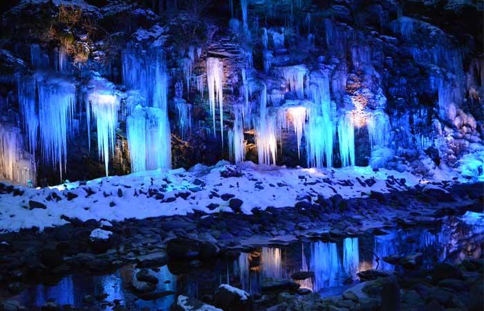 Misotsuchi icicles