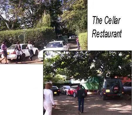 The Cellar Restaurant Parking