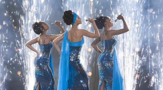 The Dreamgirls in the Dreamgirls Musical