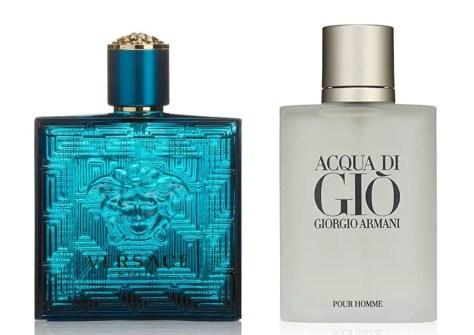 Acqua di Gio and Versace Eros