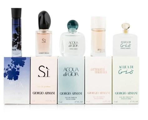 best female perfumes in Kenya: Armani perfuumes for women including Acqua di Gio