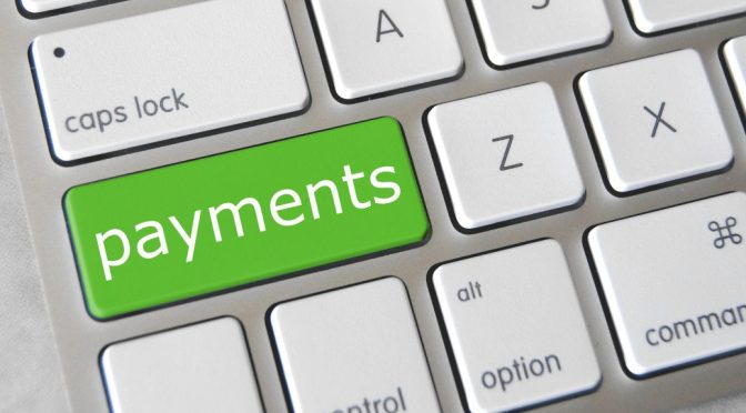 Payments on Keyboard Shift key