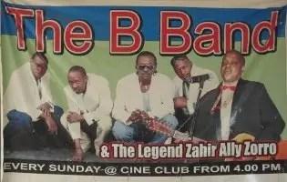 B Band on Sundays at Cine Club, Dar es Salaam, Tanzania