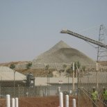 Mound of Gold at African Barrick Gold Buzwagi Mine