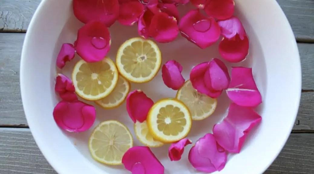 Rose Petals at a Spa