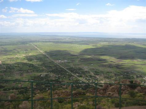 View from Balili Mountain
