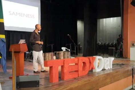 January Makamba speaks at TEDxDar